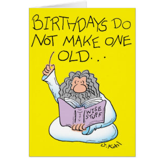 Wise Stuff Greeting Card