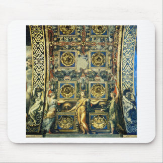 Wise Virgins Allegorical Figures And Plants Mouse Pad