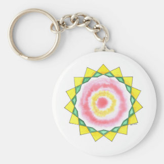 Wise Woman Star Key Ring