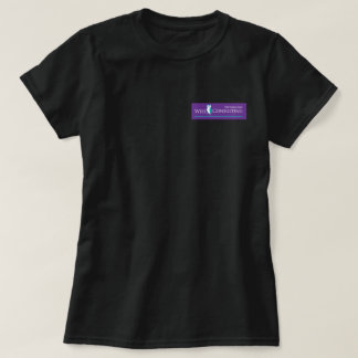 Wise Women's Basic T-Shirt - Purple Logo