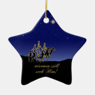 Wisemen Still Seek Him Christmas Tree Ornament