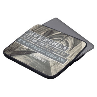 Wisest of Mankind Laptop Sleeve