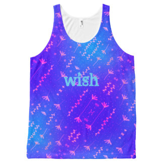 wish All-Over print singlet