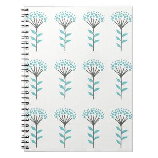 Wish flower notebook