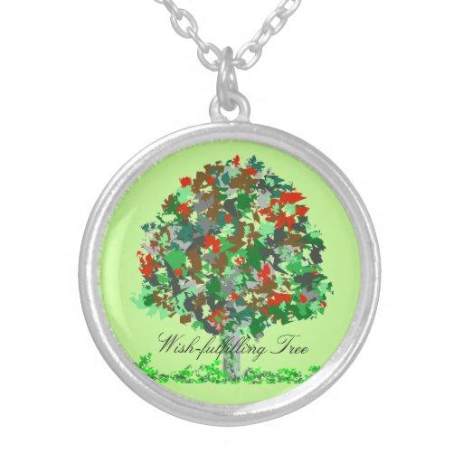 Wish-fulfilling Tree Necklace