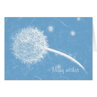 Wish upon a dandelion Happy Birthday Card