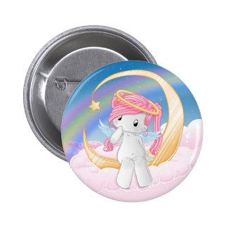Wish upon a star 6 cm round badge