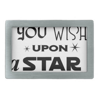 wish upon a star belt buckle