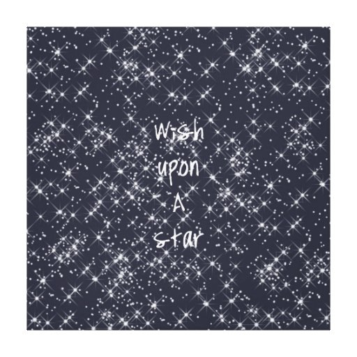 Wish Upon A Star Gallery Wrapped Canvas
