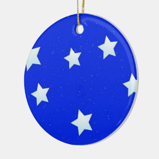 Wish Upon a Star Ceramic Ornament