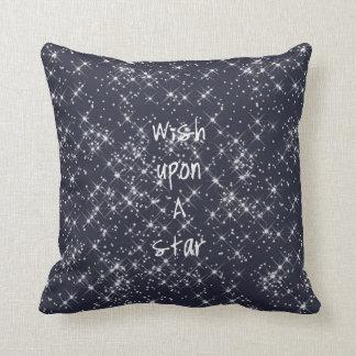 Wish Upon A Star Throw Pillows