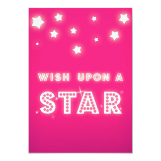 Wish upon a Star Custom Event Invitation