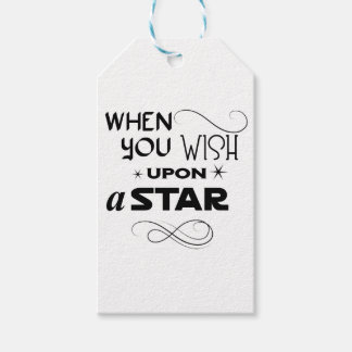 wish upon a star gift tags
