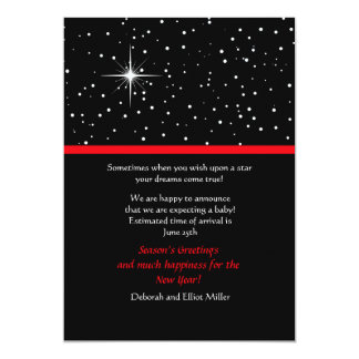 Wish Upon a Star Holiday Card 13 Cm X 18 Cm Invitation Card