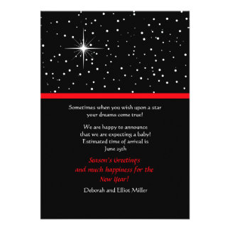 Wish Upon a Star Holiday Card