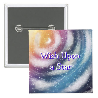 Wish Upon a Star Nacreous clouds Button Pinback Button
