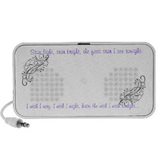 Wish upon a star mp3 speaker
