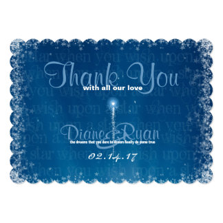 Wish Upon a Star Thank You Cards