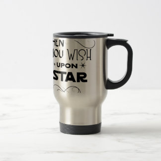 wish upon a star travel mug