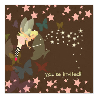 Wish Upon the stars!. Birthday Party Card