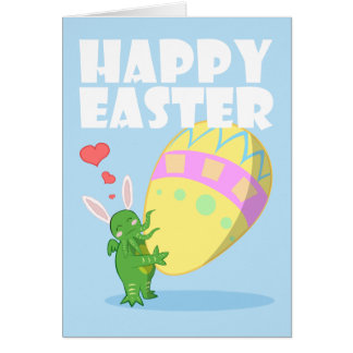 Wish you a Cthulhu Easter Card
