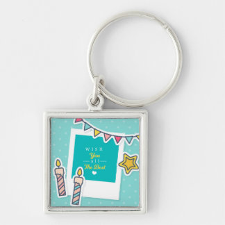 Wish You All The Best Key Ring