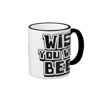 WISH YOU WERE BEER - coffee mug