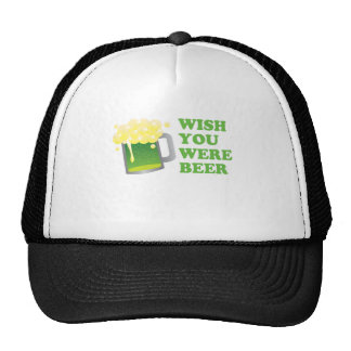 Wish You Were Beer St Patrick's Day Mesh Hat
