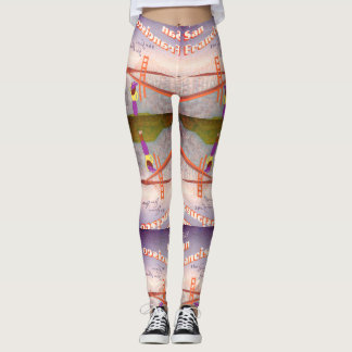 """Wish You Were Here"" Golden Gate Bridge Leggings"