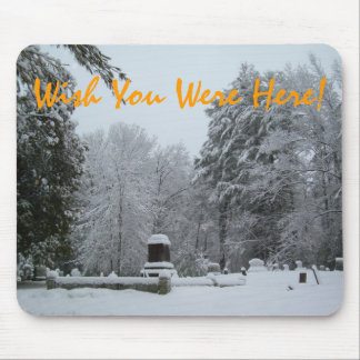 Wish You Were Here! Mouse Pad