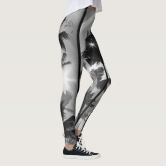 Wish You Were Here Palm Trees Leggings