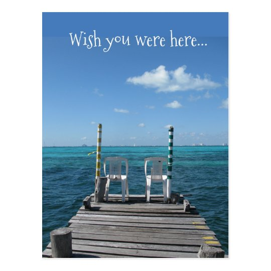 Wish you were here... postcard