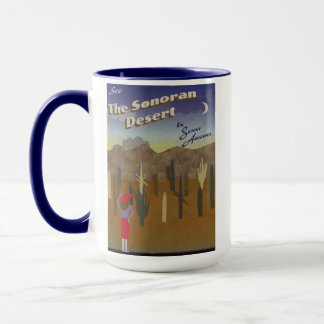 """Wish You Were Here"" Sonoran Desert Mug"