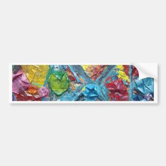 wisha washa original art from NET GIG series adela Bumper Sticker