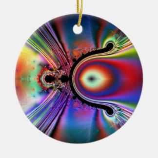 Wishbone Fusion Ceramic Ornament