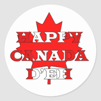 Wishes Canada Day Stickers