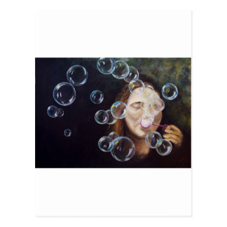 Wishing Bubbles Postcard