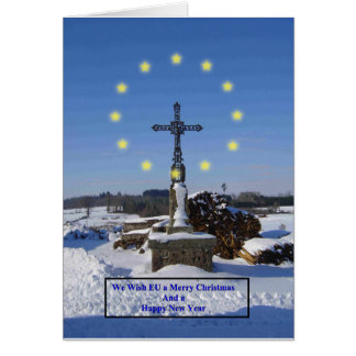 Wishing EU a Merry Christmas and Happy New Year Card