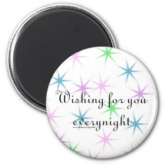 Wishing for you everynight refrigerator magnets