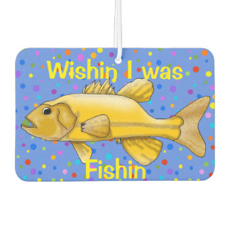 Wishing I Was Fishing Air Freshener