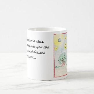 wishing on stars basic white mug