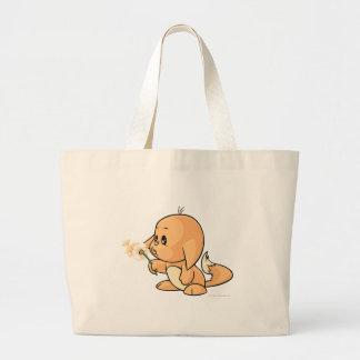 Wishing orange Kacheek Jumbo Tote Bag