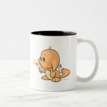Wishing orange Kacheek mugs