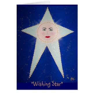 """""""Wishing Star"""" - #1 Aida; RhubarbStreet Card"""