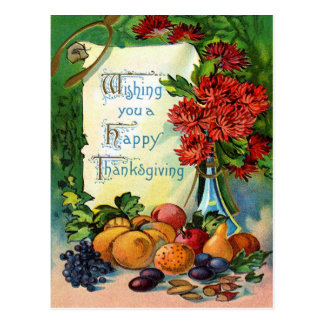 Wishing Thanks Postcard