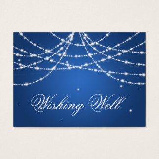 Wishing Well Sparkling String Blue
