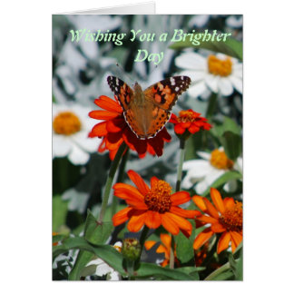 Wishing you a brighter day card