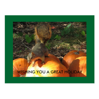 WISHING YOU A GREAT HOLIDAY POSTCARD