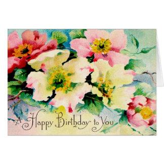 Wishing you a Happy Birthday Card