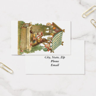 Wishing You a Happy Easter Business Card